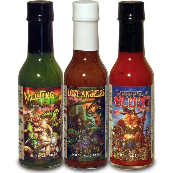 Kevin Eastman's Creator Collection Gourmet Hot Sauce Gift Set