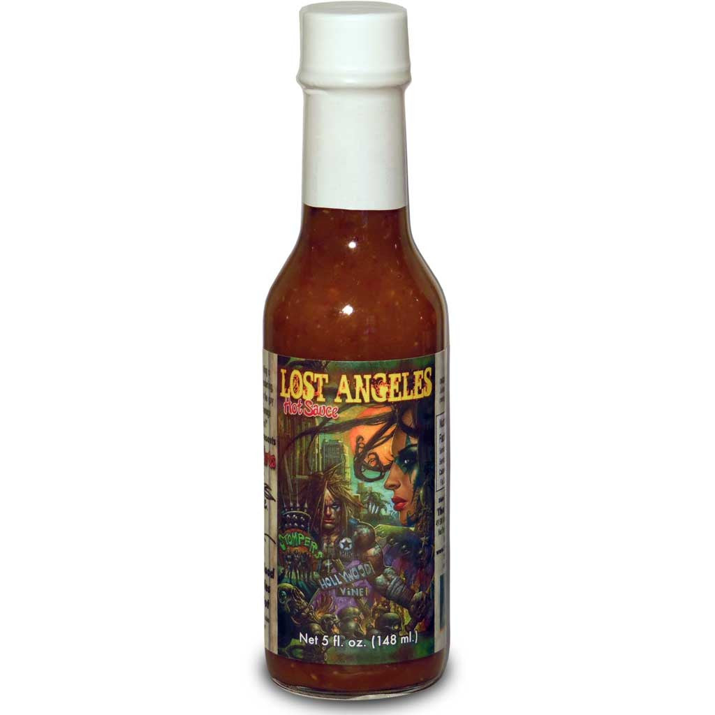 "Kevin Eastman ""Lost Angeles"" Tropical Habanero Hot Sauce, 5 oz."