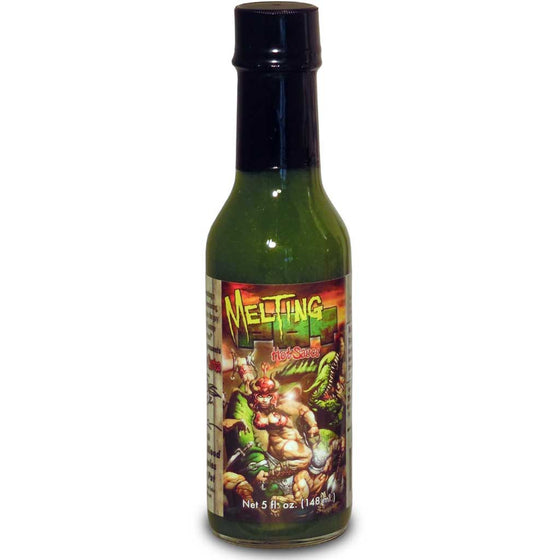 "Kevin Eastman ""Melting Pot"" Fresh Jalapeno Hot Sauce, 5 oz."