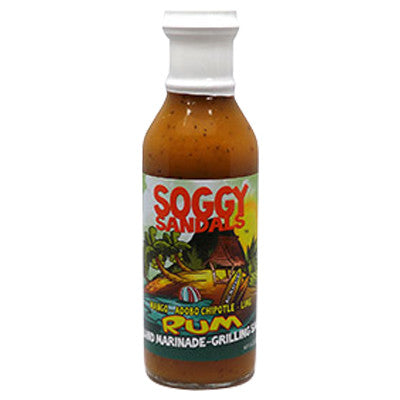 Mango, Adobo, Chipotle, Lime Rum Island Marinade & Grilling Sauce, 12 oz