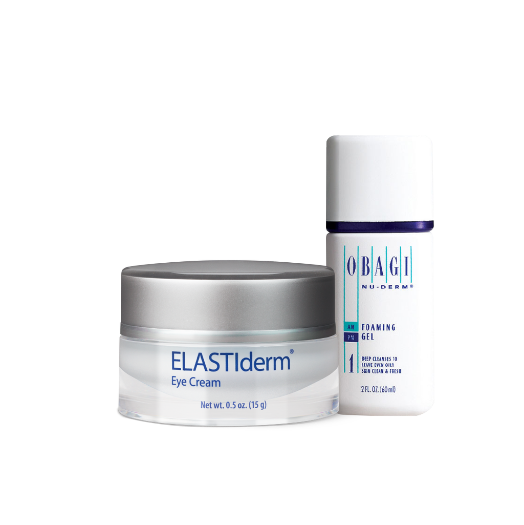 Elastiderm Eye Cream + Cleanser Kit