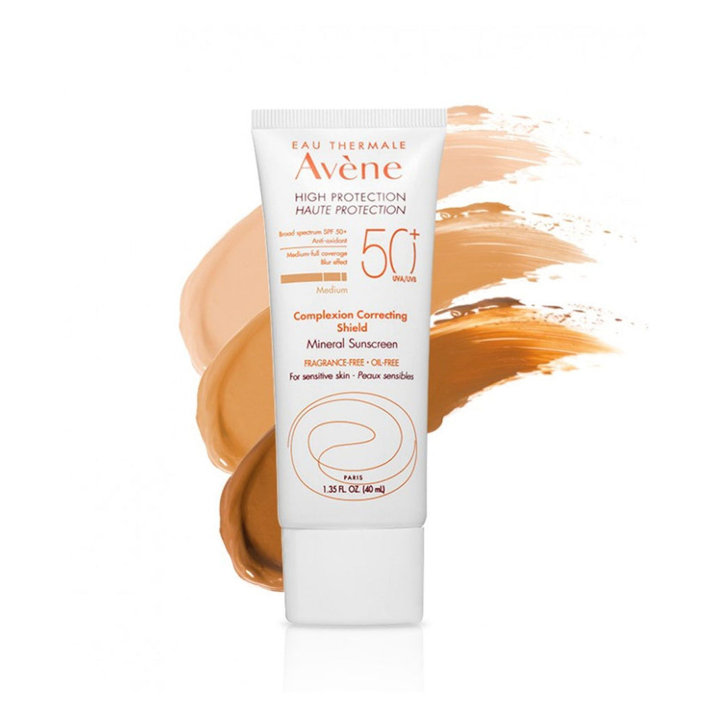 Avene Complexion Correcting Shield SPF 50+, Medium Tone