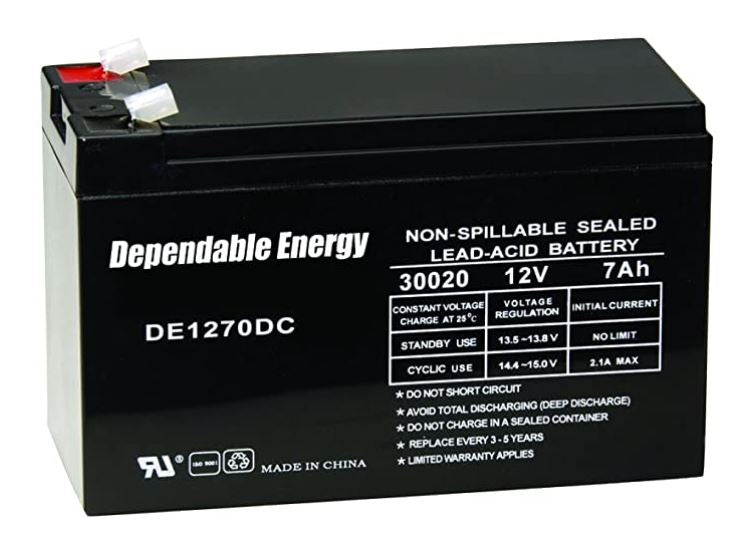 Batterie 12 v AH rechargeable