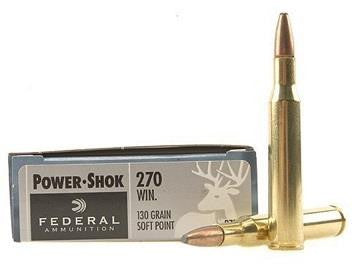 Balles POWER SHOK cal.270 WIN