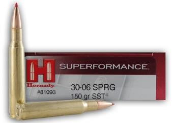 Balles SUPERFORMANCE SST cal.30-06 SPRG