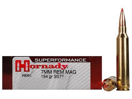Balles SUPERFORMANCE SST cal.7MM REM MAG