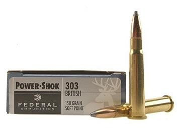 Balles POWER SHOK cal.303 BRITISH