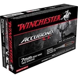 Balles ACCUBOND CT cal.7MM REM MAG