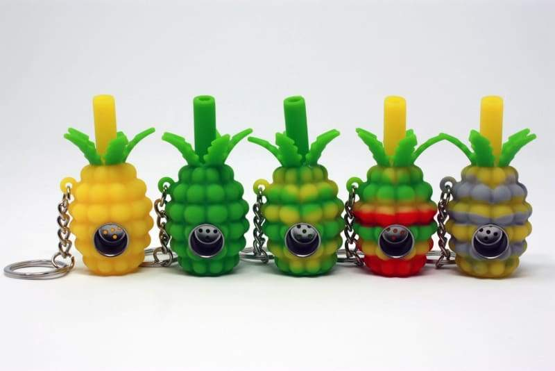 Pocket Pineapple-Silicone rigs Silicone spoons dab rig oilslick oil slick