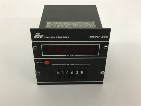 Red Lion Controls Timer Model SCD 115 volts