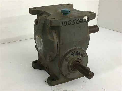5:1 Ratio Right Angle Gear Reducer no Data Plate