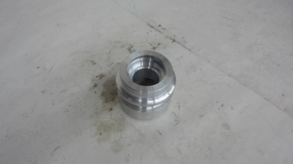 "2-ALUMINUM HYDRAULIC CYLINDER PISTON, 2-1/4"" OD X 2"" LONG X 1"" BORE AS PICTURED"