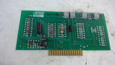 Action Machinery, 78000, Servo Card Assembly