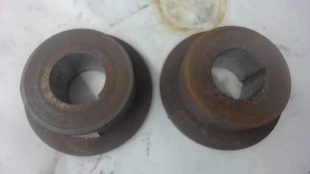 "2-TRACK ROLLER WITH TAPERED FLANGE, 1-15/16"" ID X 4"" ROLLER OD X 5-1/2 FLANGE OD"