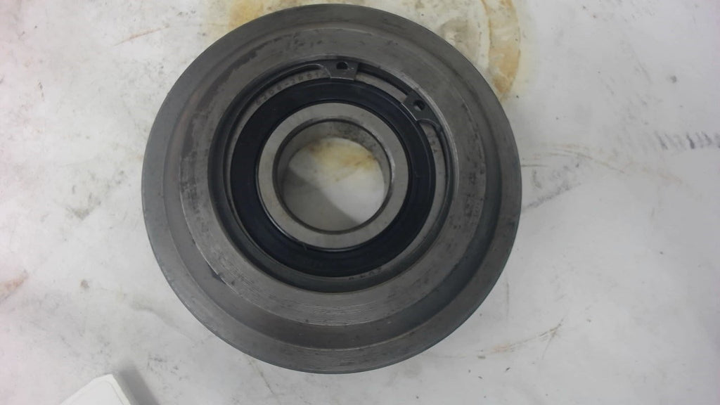 "Flanged Track Roller With A Skf 6206 Bearing, 1"" Thick X 4"" Od X 0.205"" Flange"