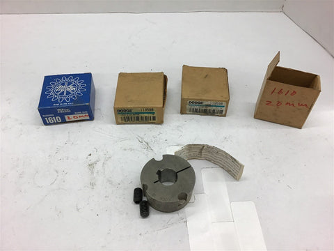 1610 Bushing 20 MM Lot of 4