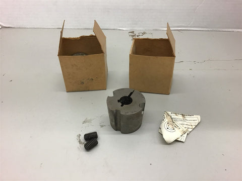 1215 5/8 Taper Lock Bushing Lot of 2