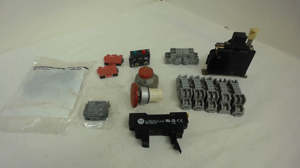 Lot Of 15, Various Electrical Parts, See Description And Pictures For More Info.