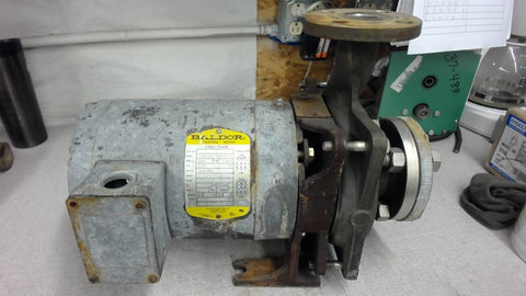 BALDOR, 3/4 HP, 1725 RPM, 4P, 56J FRAME, 230/460 VOLTS WITH STAINLESS PUMP