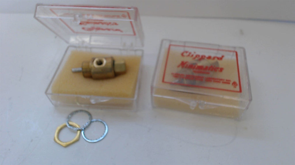 2 CLIPPARD MINIMATICS NEEDLE VALVE -  V1 -  NEW