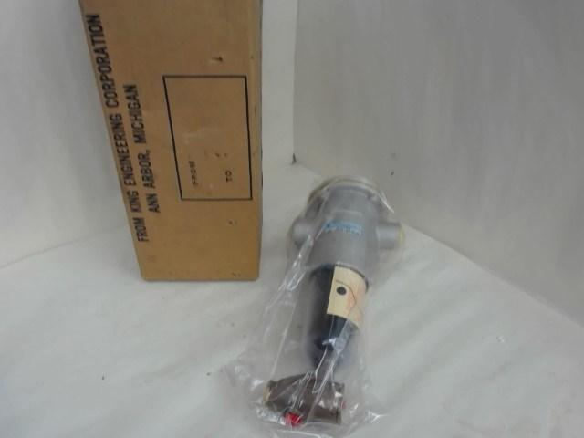 King, 4525-19T, Pneumatic Filter, Max Psi 150