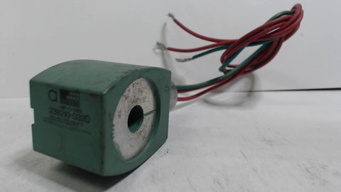 ASCO SOLENOID COIL 238210-32D  -  120/60 110/50 FT  -  MP-C-080 - USED