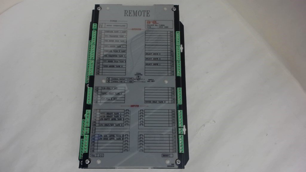 AREL 7.2230 REMOTE, POWER: 24VDC UNREGULATED, RLR80188/0992
