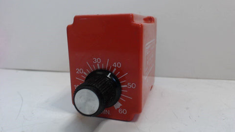 NCC NATIONAL CONTROLS  SOLID STATE TIMER - T3K-3600-461 -  36-3600 Sec  120VAC