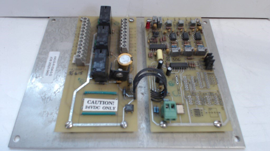 CONTROL CIRCUIT BOARD A43-D-R-034-0-G / JOB 20525-0403     24VDC ONLY - USED