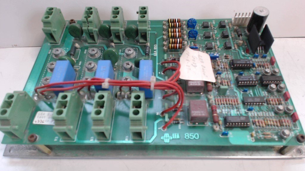 Lea 850 Control Circuit Board - 2.028.01.081.01 /  50.13.76   - Used