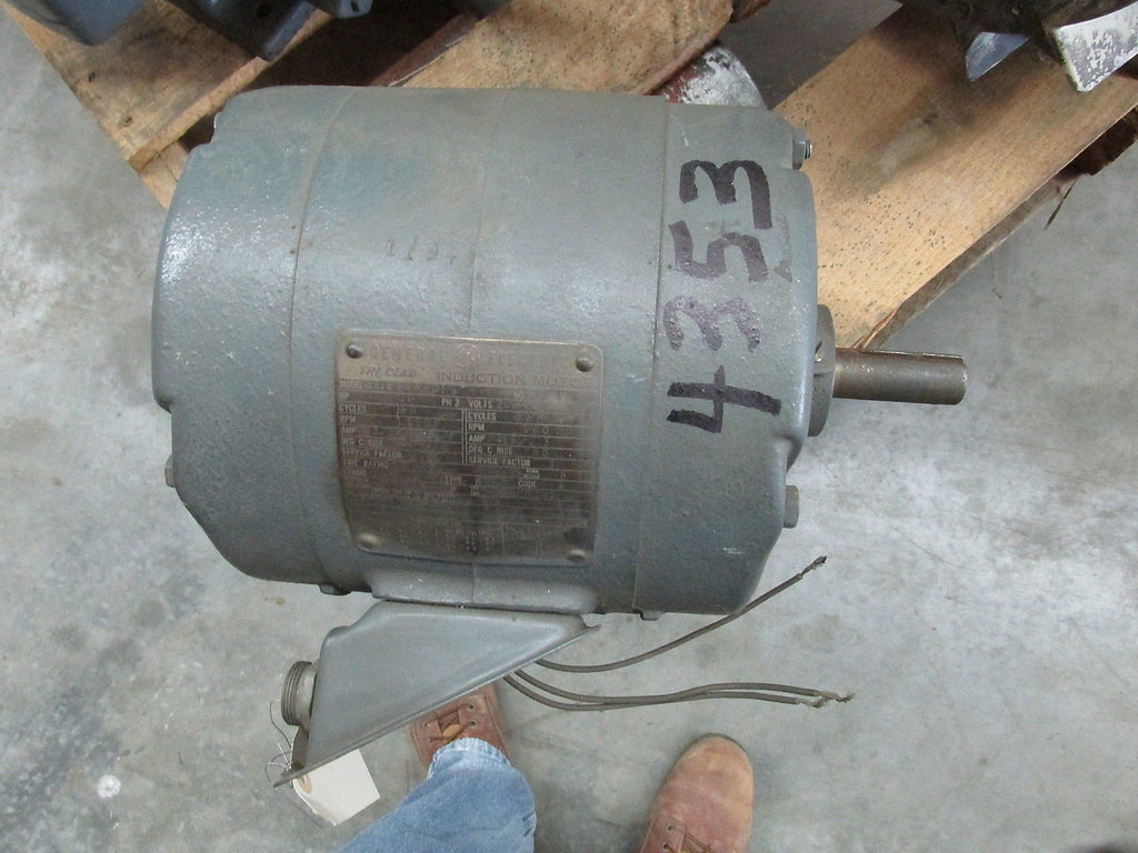 ELECTRIC AC MOTOR, 1 HP, 1150 RPM, 440V ONLY 3/60, 184 FR, DP