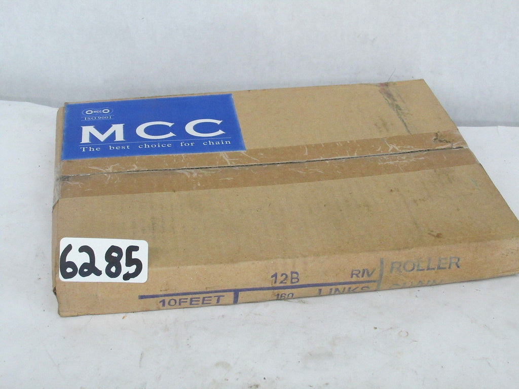 MCC 12 B RIV Roller Chain 10' 160 Links New