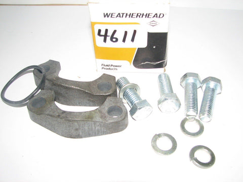 2 WEATHERHEAD FLUID POWER PRODUCTS SKF24 - BUNA-N 90 DURAMETER - STD PRESS FLANG
