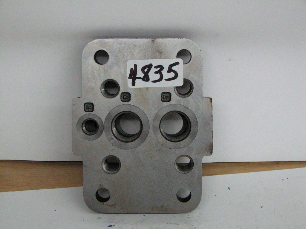 "Valve Block 4 Base Mounting Holes 5"" X 3"" X 1/2"""