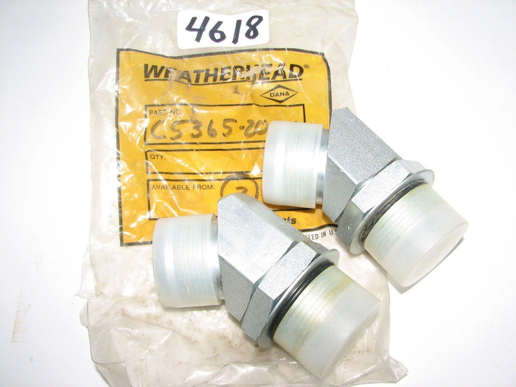 2 Weatherhead Hydralic Fittings C5365-20-20   - New