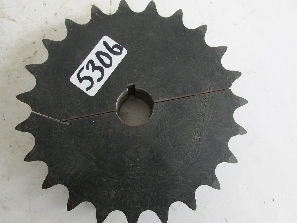 "Martin Sprocket  80B23  1 1/4"" -  Keyed W/ Set Screw   New"
