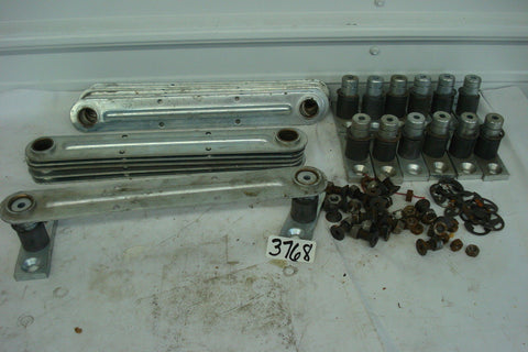 "13 1/4"" Steel Bar with Mounting Brackets, w/Bolts, Snap Rings, Bronze Bushings"