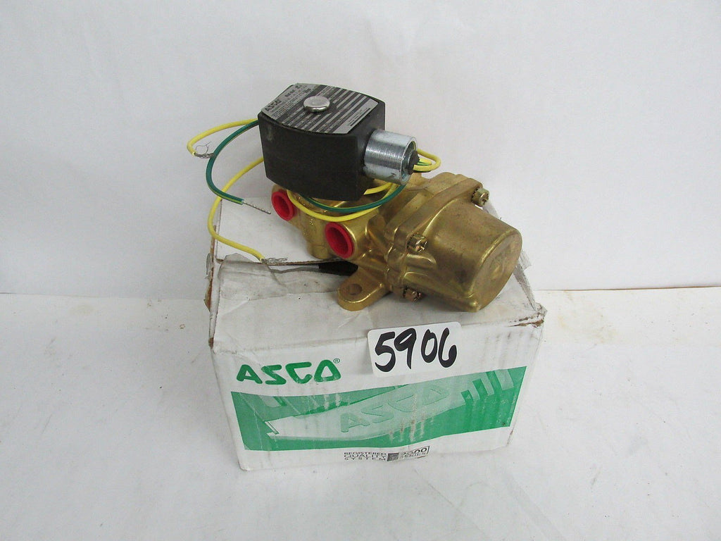 Asco Red-Hat Solenoid Valve Efht8003G1 A926875 10.1 Watts 3/8 Pipe 302711 New