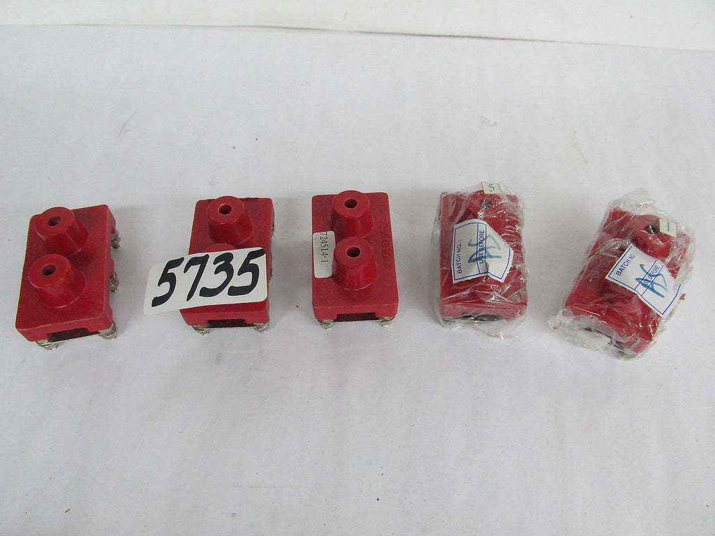 5 LEOTECH TERMINAL BLOCKS   235B4590AA  -   NEW