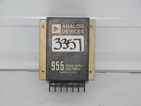 Analog Devices 955 Power Supply 5VDC/1000mA