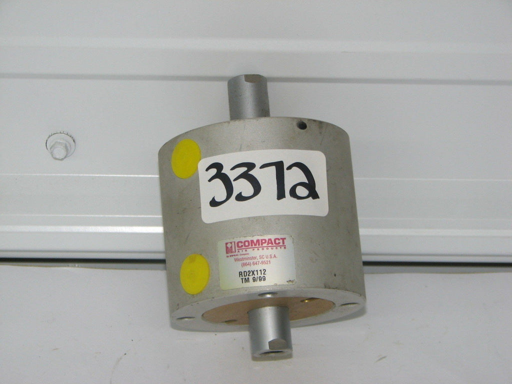 "Compact Air Double End Air Cylinder RD2X112 5/8"" TM 9/99"