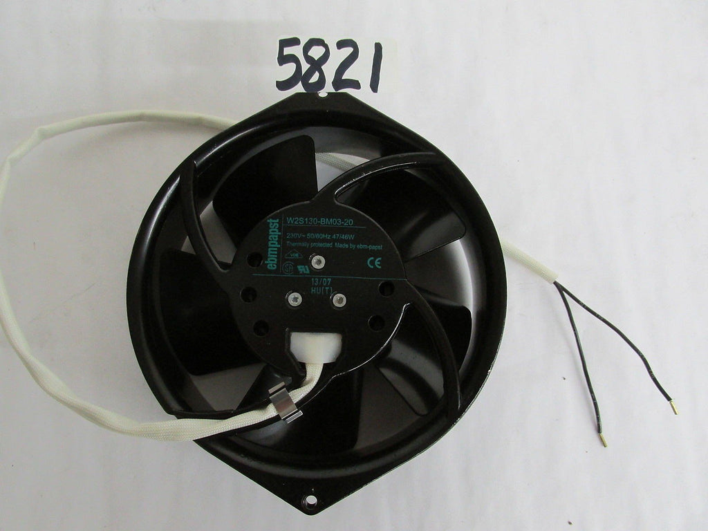 "Ebmpapst Cabinet Cooling Fan  W25130-Bm03-20 - 230 Vac - 50/60 Hz - 6"" Od  New"