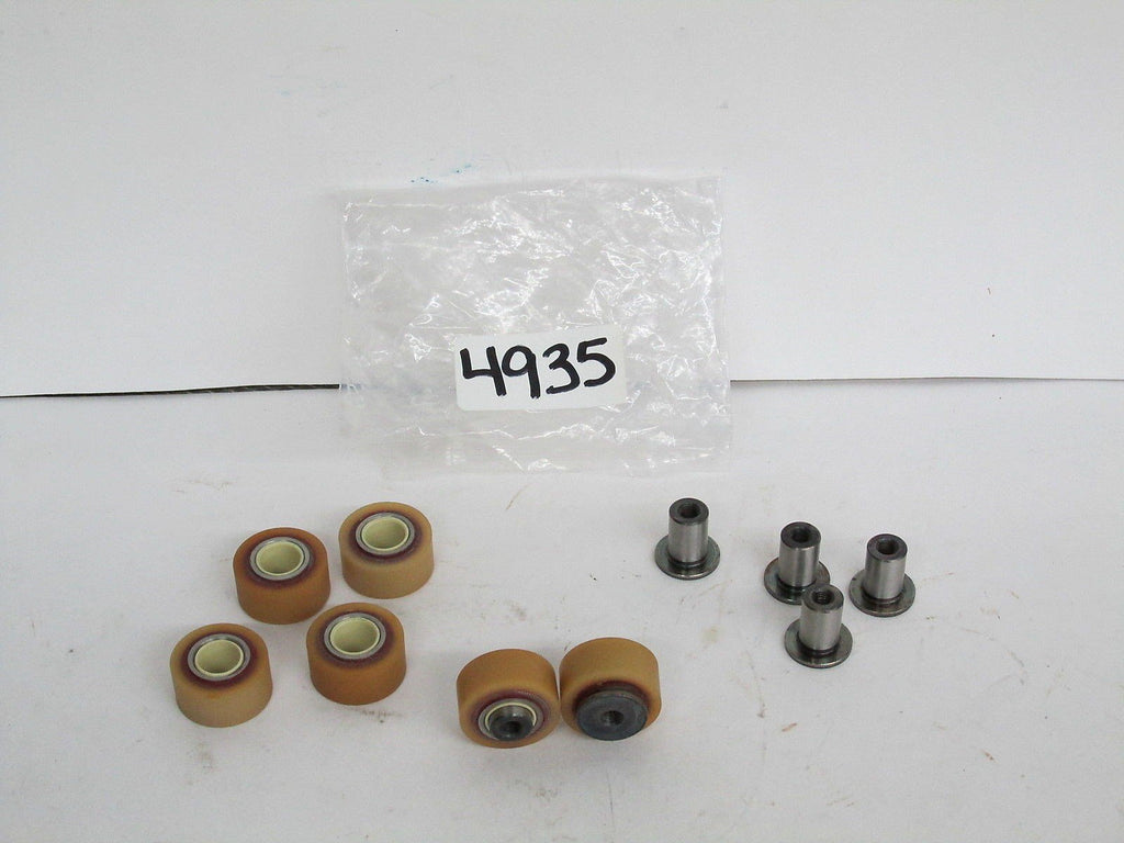 6 Rollers w/ 6 Teflon Bearings 6 mm Metric Thread