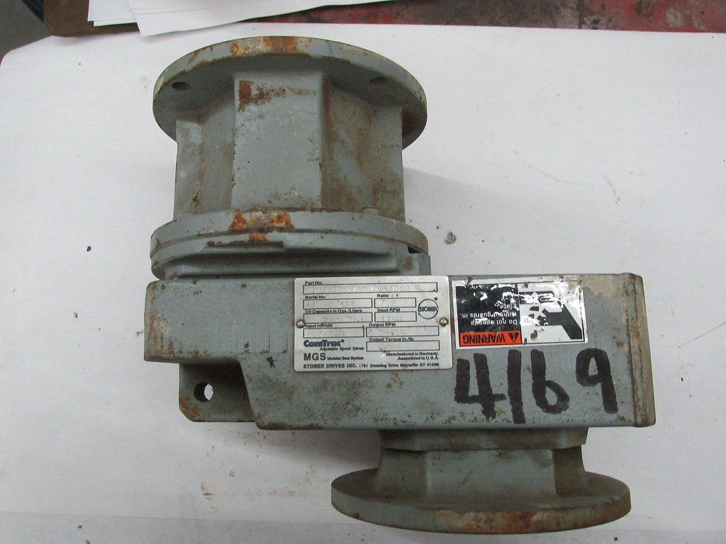 Stober/ Comtract Gear Reducer - F102Af0072Mr164/050  - Rpm1750/ 244.6 Ratio 7.21