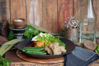 Pulled Beef Brisket with Sweet Potato Mash & Beans 280g - 380g