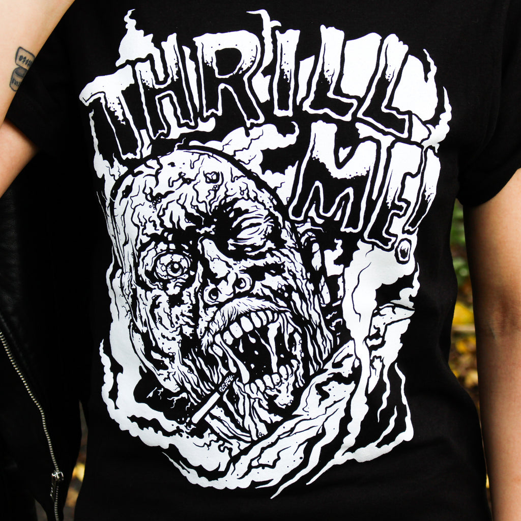 Two New Shirts: Thrill Me and Born Dead!