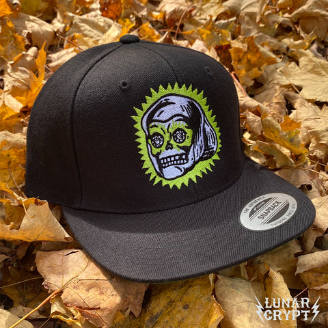Limited Edition Lucky Skull Ring - Embroidered Snapback Hat