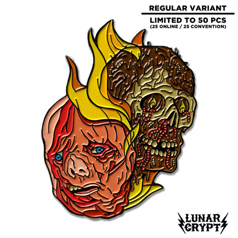 The Burning Revenge - Soft Enamel Pin