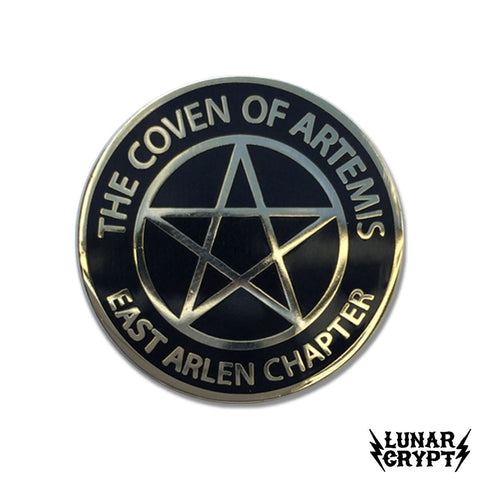 The Coven of Artemis - Hard Enamel Pin - Horror