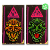 McVillain Godzilla - Soft Enamel Pin - Your Choice of Styles!